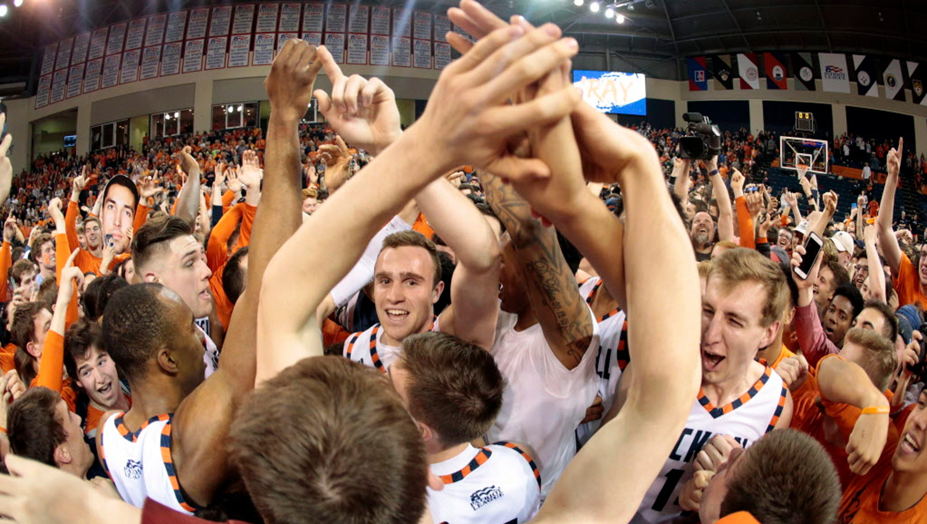 Bucknell routs Colgate to win Patriot League for second ...