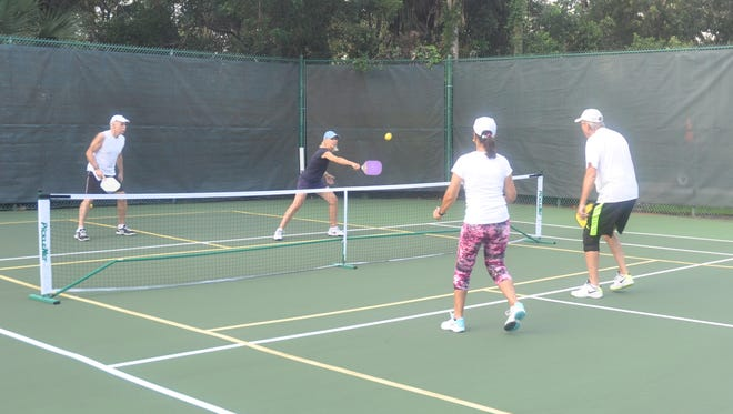 Bonita Bay added pickleball courts in 2010 and now they are so busy they need more.