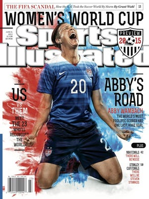 Pittsford native Abby Wambach is featured on a regional cover of Sports Illustrated magazine this week.