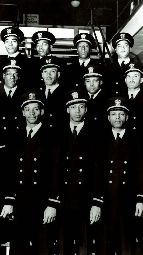 "The ""Golden 13"" were the 13 African Americans who became the first commissioned officers in the U.S. Navy. Their excellence helped pave the way for President Harry Truman to desegregate the armed forces in 1948."