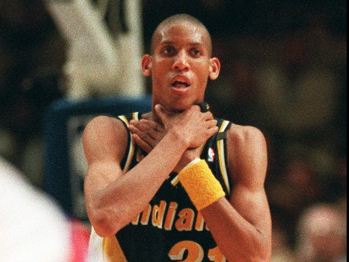 Coming up on the 20th anniversary of Pacers guard Reggie Miller choking the Knicks in the 1994 Eastern Conference finals, this seems like a good time to discuss the importance of great shooters in the playoffs. USA TODAY Sports' Adi Joseph ranks the 10 best in the second round.