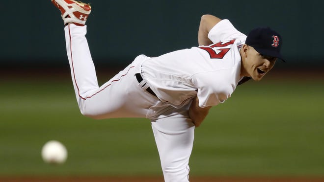 Nick Pivetta delivers in his Red Sox debut Tuesday night at Fenway Park.