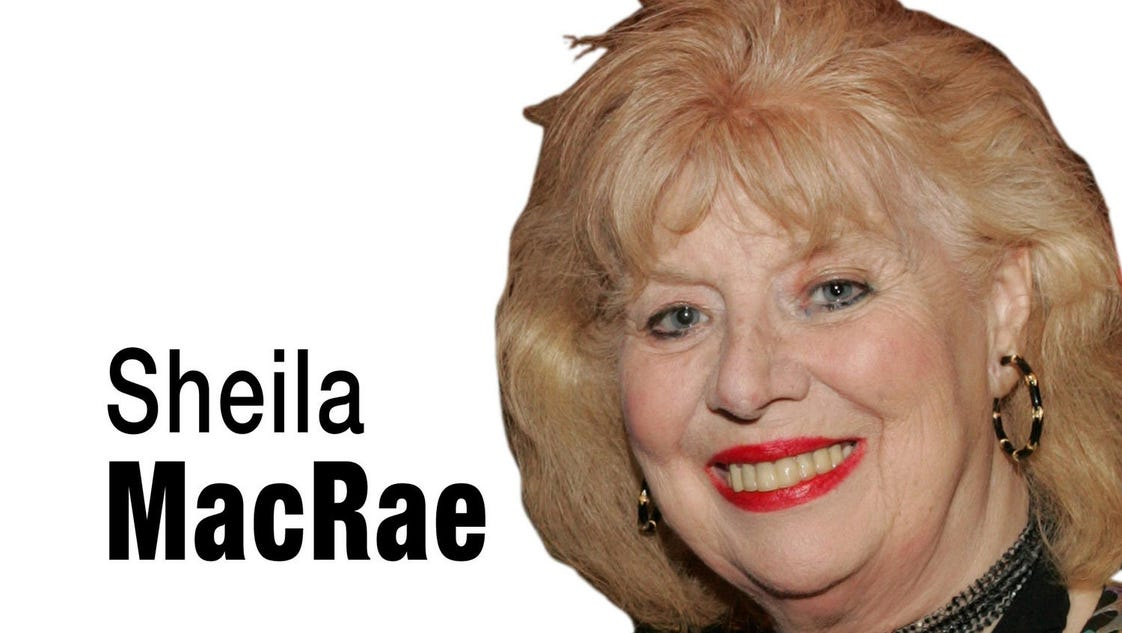 Sheila MacRae of 'Honeymooners' fame dies at 92