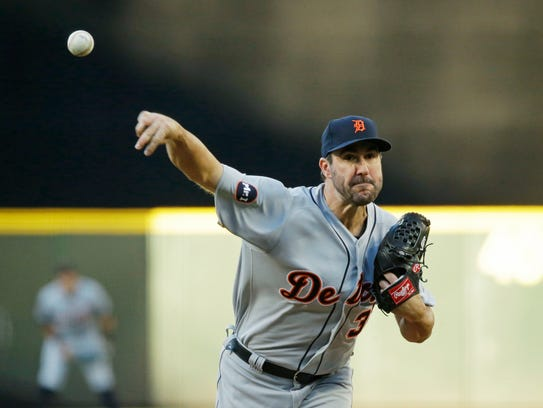 Tigers starter Justin Verlander gave the Mariners first