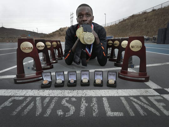 UTEP runner Anthony Rotich is the most decorated UTEP