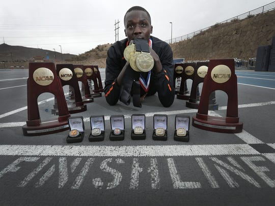 UTEP runner Anthony Rotich is the most decorated UTEP athlete with 19 Conference USA championships and four NCAA championships. He made All-American 11 times. He has also won numerous academic honors.