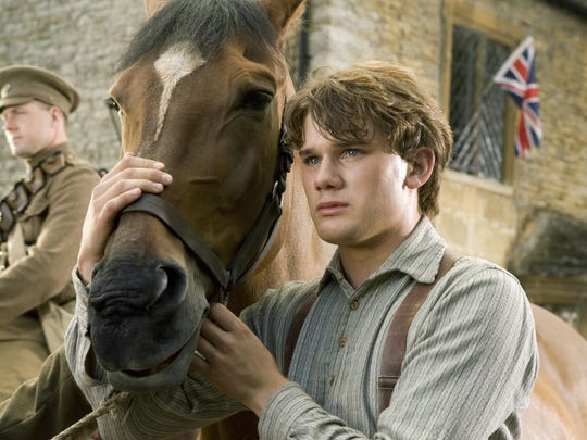 "Jeremy Irvine plays Albert in 2011's ""War Horse."""