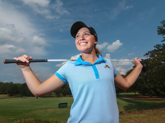 Anderson University freshman golfer Makalyn Poole of Williamston.
