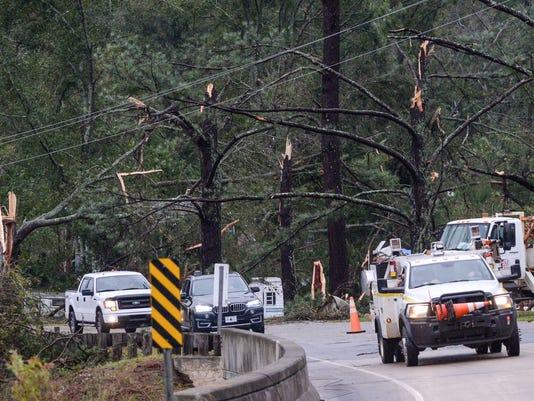 Pickens County Storm possible tornado