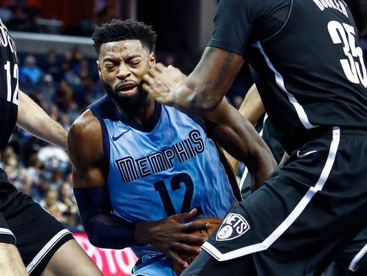 Lead Grizzlies Nets