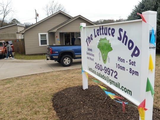 The Lettuce Shop on U.S. 76 in Pendleton on Thursday, February 1, 2018.