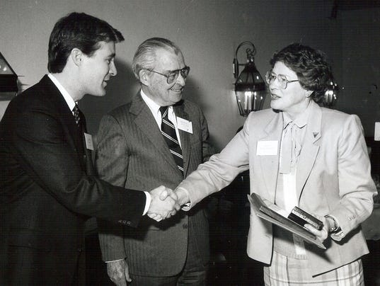 636555995132916078-1989-Receiving-Jefferson-Award-from-Gov-Evan-Bayh-for-YWCA-DVIPP-work.jpg