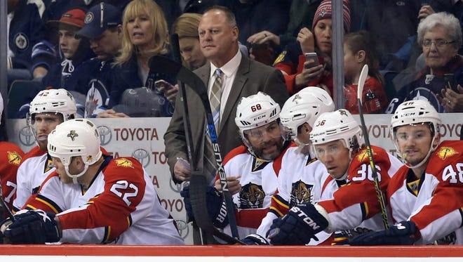 Former Panthers coach Gerard Gallant is expected to be named head coach of the expansion Vegas Golden Knights, according to reports.