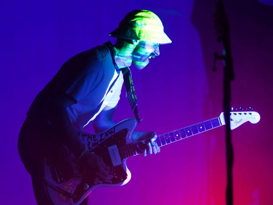 Portugal, The Man performed early Sunday morning during