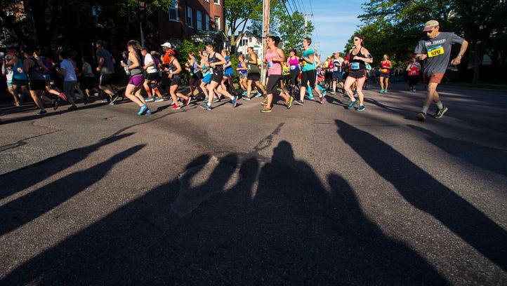 For this man, the marathon is a 30-year family tradition. Last week, both his parents died