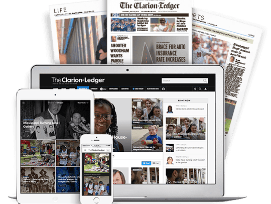 You can get a digital-only subscription to The Clarion-Ledger