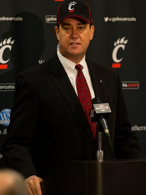 UC athletic director Mike Bohn