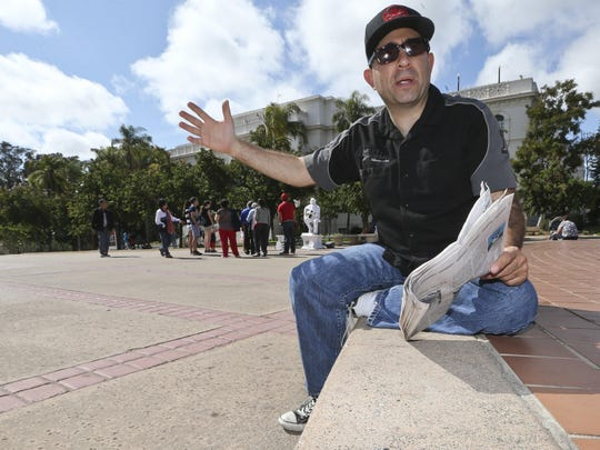 Unlike many Americans, Robert Nadel, 44, pictured in San Diego's Balboa Park, has saved and purchased insurance to make sure he can afford the cost of long-term care.