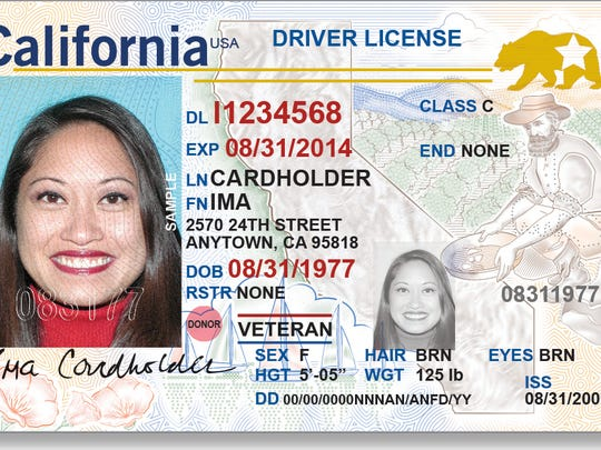 This is what the REAL ID drivers license will look like.