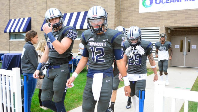 (SPORTS)      09/24/16        West Long Branch, NJ Monmouth University hosted Charleston Southern on Saturday in West Long Branch. Frank Galipo/Correspondent ASB 0925 Monmouth Football B
