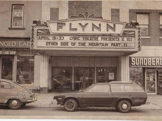 A 1978 view of the front of the Flynn.