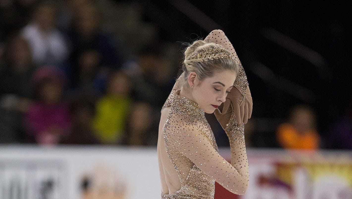 gracie gold addresses issues of weight physical shape in skating