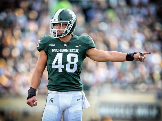 Kenny Willekes, Michigan State DE.