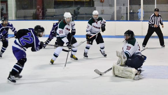 Kevin Kern and Ethan Cott are back scoring goals for the Legends.