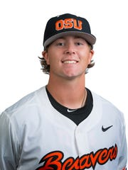 OSU pitcher Scotland Church made 16 appearances this