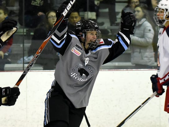 Harrison Browne had 12 points for the Buffalo Beauts
