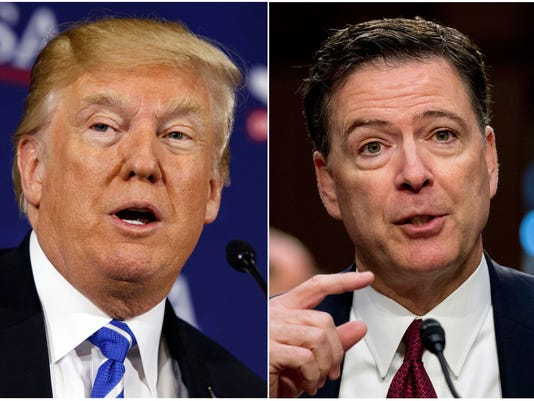 President Trump James Comey