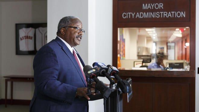 Mayor Keith James.