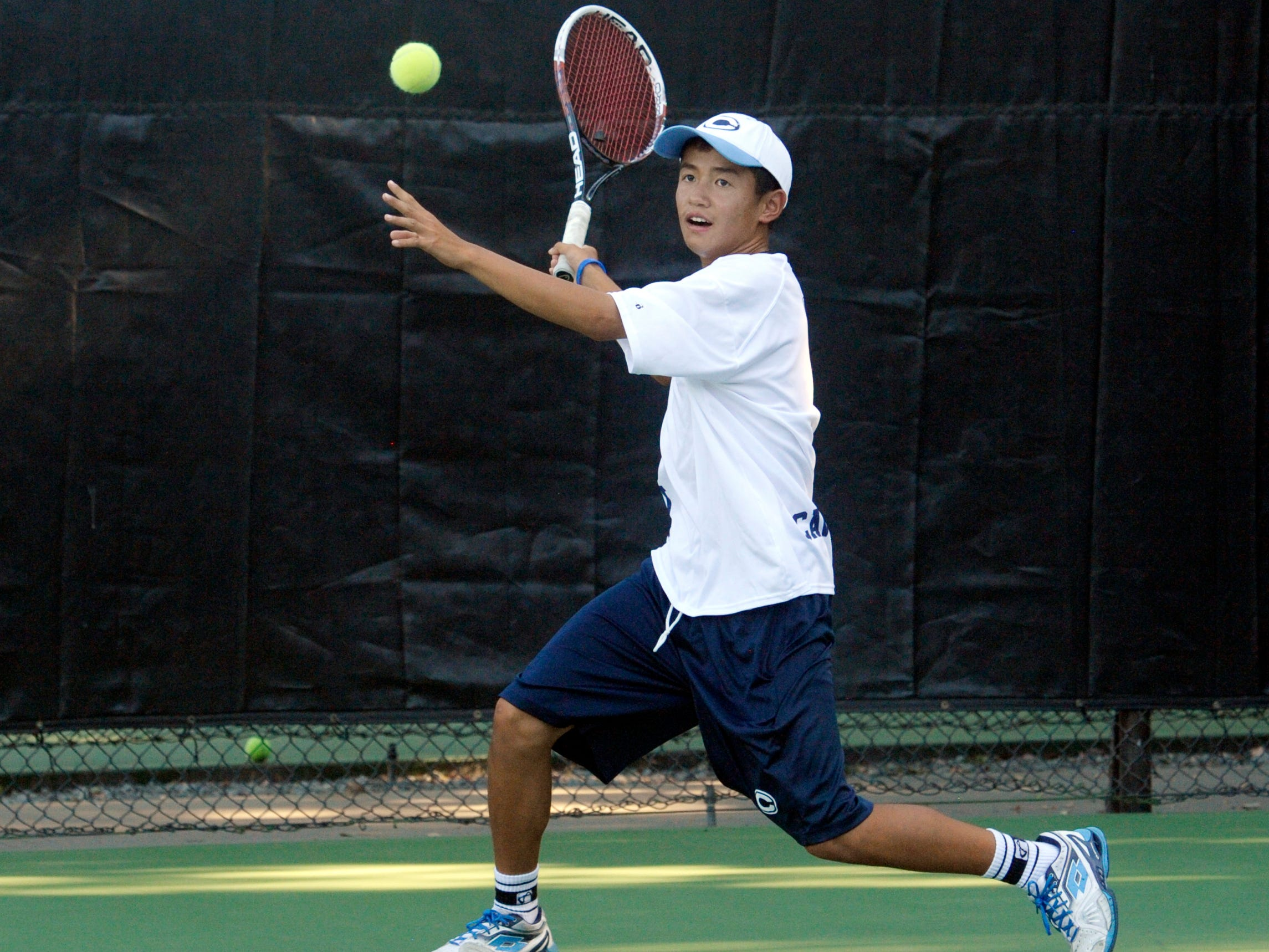 Central Valley Christian's Bailey Gong is the defending Central Area singles champion. The Central Area Championships are May 8-9 at Golden West.