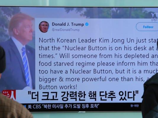 AP SOUTH KOREA UNITED STATES NORTH KOREA I KOR