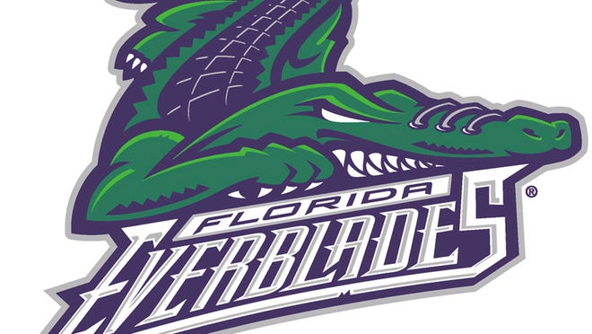 "2004 ECHL "" America's Premier AA Hockey League "" Florida Everblades Logo"
