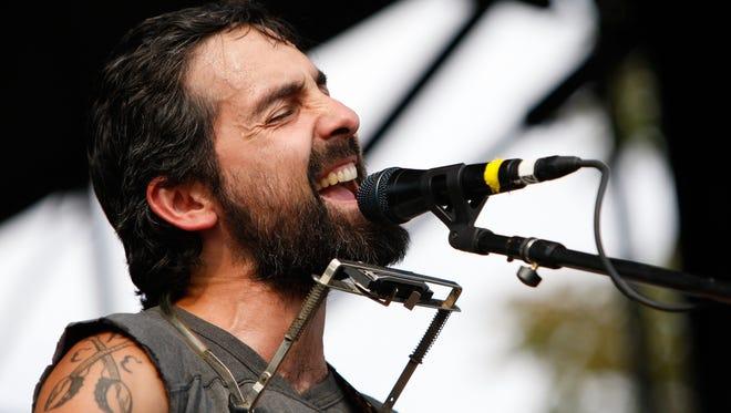 Eric Earley of Blitzen Trapper performs in Denver in 2013.