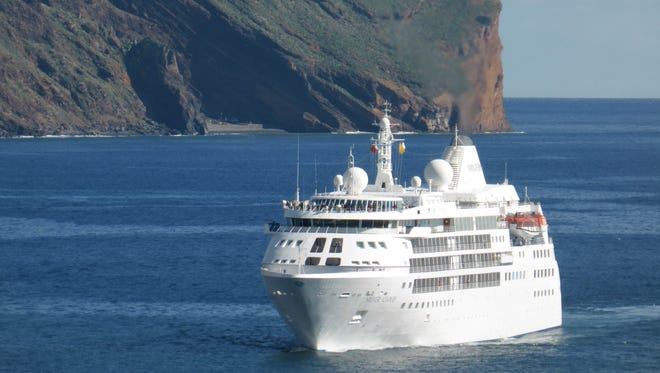 Measuring 16,800 gross tons, the 514-by-71 foot Silver Cloud has a capacity for 296 guests, giving it one of the cruise industry's highest passenger space ratios of 56:8.