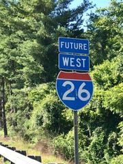 """Future"" I-26 has been called that since 2003, mostly"