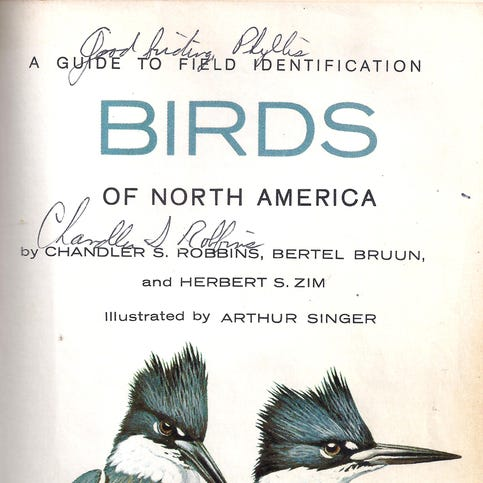 Saying goodbye to a birding great