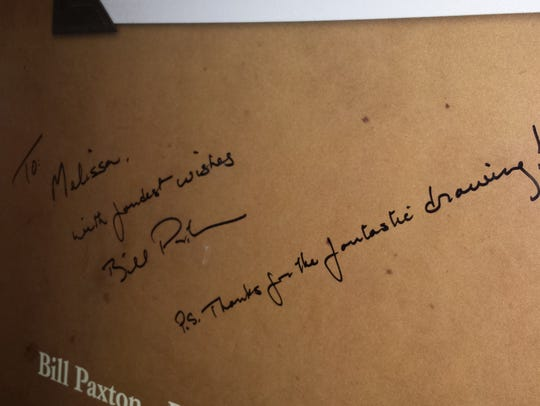 A thank you from Bill Paxton.