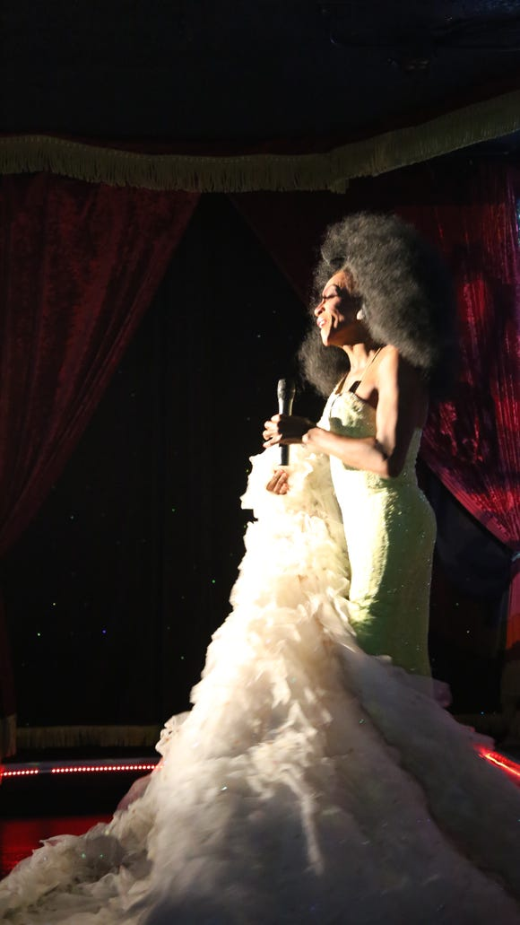 """Toni James performs at """"What a Drag!"""" at Flex Cocktail"""