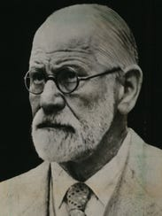 This portrait of Sigmund Freud is from 1939, the year
