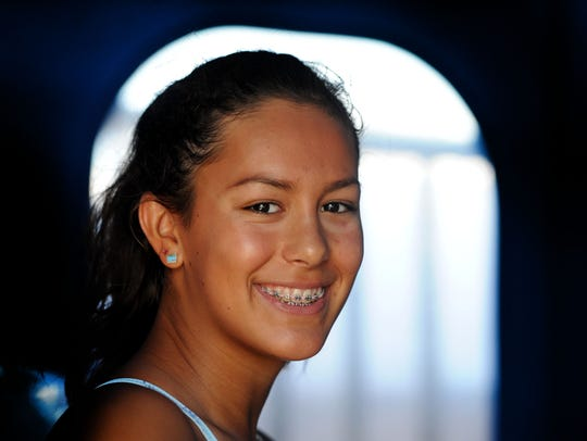 Tea Laughlin is likely to win more CIF titles in the
