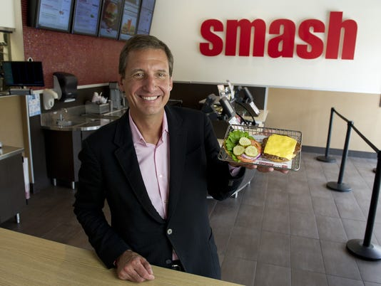 Smashburger wants to be 'Starbucks of burgers'