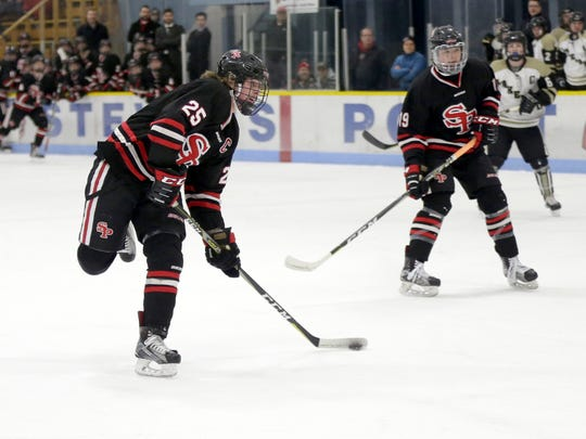Eli Haas (left) helped SPASH roll past Lakeland/Mercer