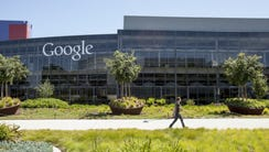 Google's main campus in Mountain View, Calif. on Monday,
