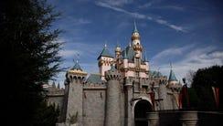 The Sleeping Beauty's Castle is seen at Disneyland,