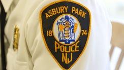 Asbury Park Police emblem.