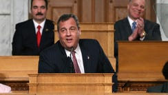 Governor Christie, during this year's State of the