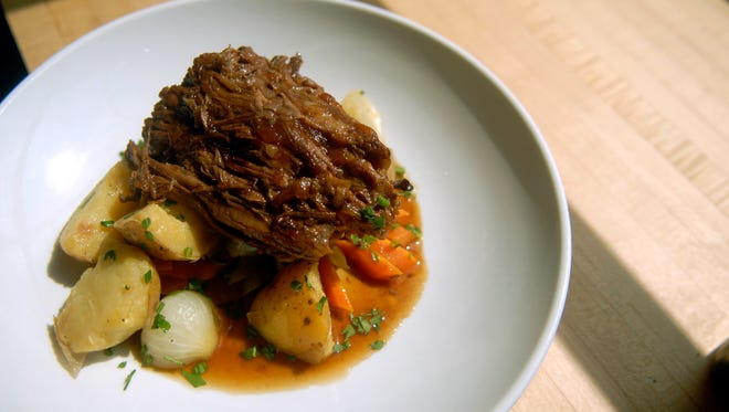 The pot roast ($14) at Finn's Southern Kitchen in Germantown.